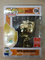Funko Pop #154 Dragonball Z Super Saiyan Vegeta Gold SDCC 2018 Limited