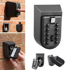 Key Safe Box Aluminium Alloy Mounted Password Security Lock Storage Boxes Code