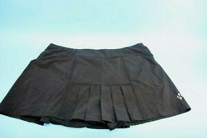 JoFit Women's Ladies Dash Skort Short  Black Size XL#D319