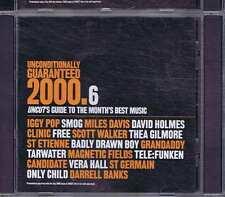 IGGY POP / SMOG / MILES DAVIS / CLINIC Unconditinally Guranteed 2000 .6 UNCUT CD