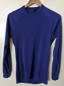 Patagonia Capilene Long Sleeve Shirt Mens Size S Purple Made In USA