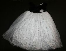 New Marmellata Brand Easter Holiday Party Black and White Dress size 6X Year NWT