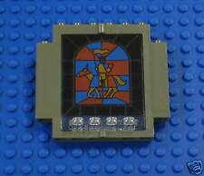 Lego 6091 Door 2x5x5 Swivel Stained Glass Knight sp58
