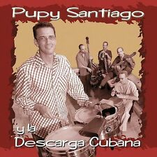 PUPY SANTIAGO Y La Descarga Cubana - CD LIKE NEW