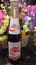 ORIGINAL COCA COLA 10 OZ INTRODUCING DIET COKE IN HOUSTON TX 1983