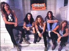 SKID ROW VINTAGE PINUP AD metal 90s hair Sebastian Bach