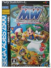 Monster World Complete Collection PS2 Import Japan
