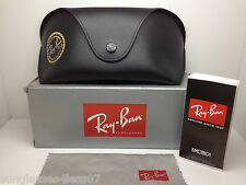 NEW RAY BAN RB 4089 601/58 SUNGLASSES RB4089 RAYBAN BLACK/GREY POLARIZED LENS