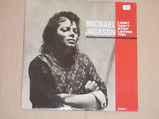 """MICHAEL JACKSON -I Just Can't Stop Loving You- 7"""" 45"""