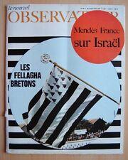 █ Le Nouvel Observateur n°180 Les Fellagha Bretons 1968