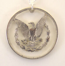 Morgan Dollar Reverse, Cut-Out Coin Jewelry, Necklace/Pendant