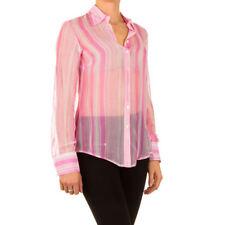 Damenblusen, - tops & -shirts mit klassischem Kragen aus Viskose in Größe 40