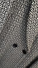 BNWOT ALEX & CO Ladies Fully Lined Wool/Cotton Coat Black/Ivory UK 12 RRP £199