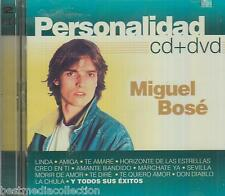 CD / DVD Miguel Bose CD Personalidad 18 Tracks & 10 Videos BRAND NEW