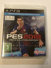 BRAND NEW Pro Evolution Soccer 2018 (PlayStation 3 PS3) PREMIUM EDITION