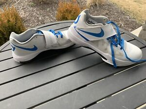 Nike Zoom KD IV 4 QS Battle Tested Size 9.5 AQ5103-100 CT16 White Blue Durant