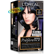 Loreal Preference 21 Starry Night Blue Black Permanent Hair Colour Dye
