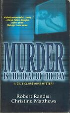 Murder Is the Deal of the Day by Robert J. Randisi & Christine Matthews (2003)