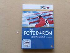 Doku Der Rote Baron Manfred von Richthofen Jagdflieger  1 Weltkrieg  DVD Neu OVP
