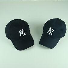 Lot of 2 NY New York Yankees Baseball Caps Blue MLB Team Blue Cap Hat