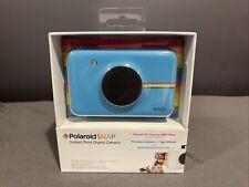 NEW SEALED Polaroid Snap Instant Digital Camera ZINK Zero Ink Printing - Blue