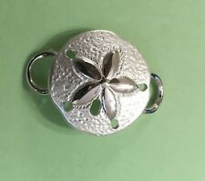 Sand Dollar Clasp - Sterling Silver 925 New Used with Convertible bracelet