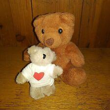 "Bab Build a Bear Workshop Plush Brown sits 6"" tall & 4"" Beige Oriental Trading"