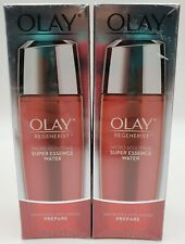 2 New Olay Regenerist Micro Sculpting Super Essence Water Advanced Anti Aging