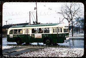 Original Slide - Chicago (IL) CTA Trolley Coach #9193.