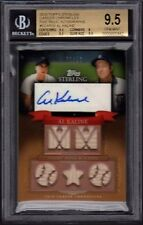 2010 Al Kaline Topps Sterling Career Chronicles 5 Relic Autos /10 BGS 9.5 Gem MT