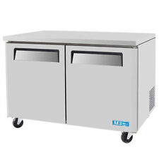 Turbo Air MUF-48-N 2 Solid Doors Undercounter Freezer