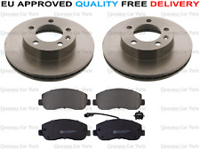 FOR RENAULT MASTER 2.3 DCI MK4 X62 FRONT BRAKE DISC AND PADS 2014 ONWARDS 302MM