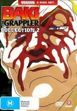Baki The Grappler : Collection 2 (DVD, 2008, 6-Disc Set) Brand New Sealed (D226)