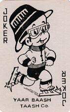 JOKER - YAAR BAASH TAASH CO  - 1    single vintage playing cards