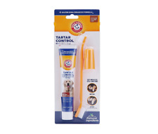 Dental Care Tartar Control Kit for Dogs Toothpaste, Toothbrush & Finger brush