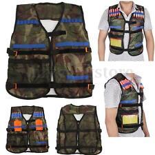 Adjustable Tactical Vest Jacket for 12 Darts Gun Accessories N-Strike Green