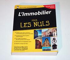Livre - L'immobilier pour Les Nuls 4e Édition - First ed. - 2015 - Très bon état