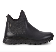 ECCO - Women's Exostrike GTX Chelsea Ankle Boot Black Leather EU 38 US 7 or 7.5