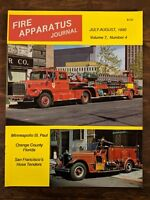 Fire Apparatus Journal Volume 7, Number 4, July-August 1990