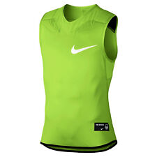 NIKE Dominate Vapor Speed Padded Football Shirt sz XL X-Large LIme Green Pro