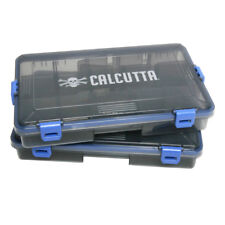 New Calcutta Squall 3600 waterproof 4 latch tackle trays 2pk Csltt-3600
