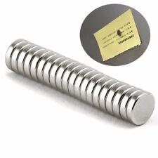 Stück wählbar runde Scheiben N38 50xNeodym Magnete Super Mini Magneten5x8 mm