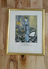 Hanging Print Frame Paul Méras Chez Mercier Frères Tapissiers Décorateurs Gold