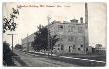 Early 1900s Bradley Knitting Mill, Delavan, WI Postcard *4T