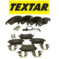 NEW Audi A4 Quattro S4 S5 allroad Set of Front and Rear Brake Pad Set OEM Textar