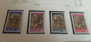 St. Kitts Nevis Anguilla 1968 Christmas Stamps