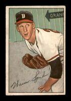 1952 Bowman Set Break # 156 Warren Spahn VG-EX *OBGcards*