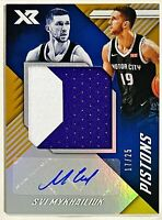 2018-19 Chronicles Svi Mykhailiuk XR Auto RC RPA #'d 17/25 Jumbo Prime Patch #19