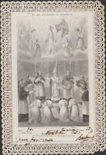 IMAGE PIEUSE ANCIEN CANIVET-HOLY CARD SANTINI - TU ES SACERDOS IN AETERNUM