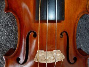 alte Meistergeige 4/4 Geige Violine Paris 1918 Old Violin with Label spielbereit